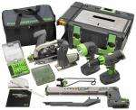 Power8 Duration 8 Piece Cordless Workshop £339.56 (Free P+P) @ Trade Counter Direct