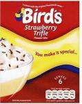 Bird's Trifle Strawberry Flavour Mix (144g) or Bird's Trifle Raspberry Flavour Mix (144g) £1.28 BOGOF @ Tesco