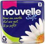 Nouvelle 100% Recycled Quilted Luxury White Toilet Tissue (9) £3.25, Cushelle Toilet Tissue White (9) £3.50 & (16) £6 @ Tesco
