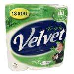 Cushelle 18 Rolls / Triple Velvet 18 Rolls £5 @ The co-operative