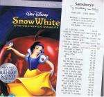 Snow White & 7 Dwarfs DVD 2 Disc £5.00 at Sainsburys Instore & Online (and others)