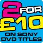 2 for £10 on Sony DVD movies @ BlahDVD!!