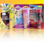 Kids Torches - Disney Princess, Cars & Spongebob in Poundland