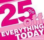25% off Jane Noman (only on fulll price)