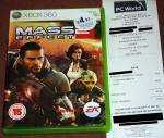 Mass Effect 2 (360) £4.97 PCW/Currys