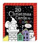 20 Usborne Kids Christmas Cards to Colour now £2.99 @ Booksdirect Bargains, spend £5 for free del