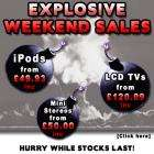 Explosive Weekend SALE @ SAVASTORE !