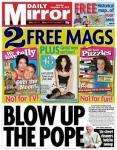Voucher for £5 off a £30 spend instore at Focus DIY in Daily Mirror