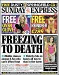 Free - Oven Glove with Todays Sunday Express - Collect form WHSMith