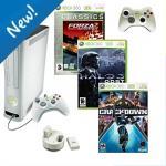 Xbox 360+Halo+Forza 2+Crackdown+Dual Xpress Charger+Wireless Controller £249 @ Asda