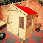 Wooden Fabric Roof Playhouse £99.95 @ Garden Buildings Direct (ends 4PM today!)