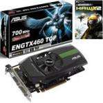 Asus GeForce GTX 460 Direct CU TOP 768MB GDDR5 PCI-Express Graphics Card with HAWX2 PC-Game £ 111 @ OC