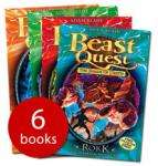 Beast Quest Series 5 Collection - 6 Books - £6.00 delivered at The Book People