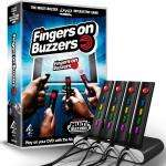 Fingers On Buzzers DVD Game & 4 Interactive Remote Buzzers - £1 in Poundland