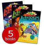 Astrosaurs Set x 5 books - £4.99 delivered at The Book People