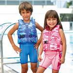 Camouflage Learn To Swim Jacket - boys or girls  £5.85 @ SwimShop