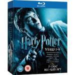 Harry Potter 1-6 7 Disc Blu Ray Box-Set. £17.99 at HMV