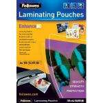 Fellowes Enhance A4 80Micron Laminating Pouch 100Pk £3 delivered @ Amazon