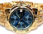 Oskar Emil Caesium 1119G Mens 23ct Gold Plated Chronograph Watch  £89.99 @ amazon delivered