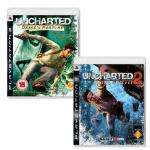 Preowned Uncharted 2 Among Thieves and Uncharted 1 Drakes Fortune (PS3) - 14.99 at Gamestation