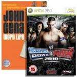 """WWE Smackdown vs Raw 2010 with free John Cena """"Word Life"""" DVD[3hrs 6mins runtime] £7.85 Delivered @ Shopto + Cashback [360]"""