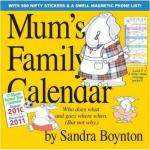Family Wall Calendar/Planner 2011 - Amazon £5.49 delivered