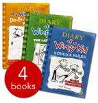 Diary of a Wimpy Kid Collection (4 Books) £5.99 delivered @ The Book People