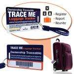EDITED POST - 50% DISCOUNT! Luggage Tracking System, lifetime protection for lost luggage, £6.25 for 1 tag, £9.98 for 2, plus £1.50 p&p @ tracemetracker