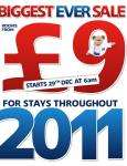 Travelodge Rooms £9 (starts 29th Dec 6am)