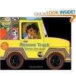 """Rescue Truck Saves the Day! (""""Go Diego Go!"""") Board Book 59p at Home Bargains"""