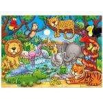 Orchard Toys Who's in the Jungle 25 Piece Jigsaw Puzzle £3.84 @ Amazon