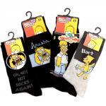 Simpsons socks £1 a pair PoundLand