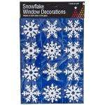 24 Snowflake Window Decorations/ Stencils For £1 @ Poundland