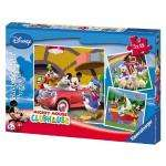 Mickey Mouse Clubhouse 3x49 piece jigsaw puzzle £2.99 @ Amazon
