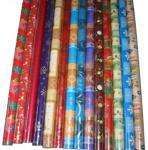 12 meters of Christmas wrapping paper - £1 @ Matalan