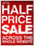 Half Price Sale + Free Express Delivery Upgrade @ bonmarche