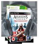 Logitech Wireless Headset F540 and Ubisoft Assassin's Creed Brotherhood Bundle