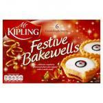 Mr Kipling Festive Bakewells - £1 BOGOF - Morrisons