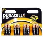 Duracell Plus Alkaline AA Batteries Pack of 8  MN1500 £3.10 @ Amazon