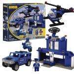 Best-Lock Construction Toys Police Station 240 Piece was £10 now £3.74 + Free delivery to local store @ Wilkinsons