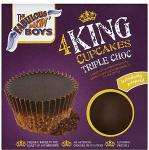 Fabulous Baker Boys King Chocolate Cupcake x 4 was £1.45 now 72p @ Sainsburys