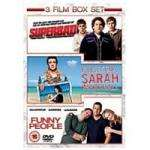 Universal DVD Funny People, Superbad, Forgetting Sarah Marshall Boxset £5.00 @ Boots