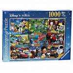 Disney Pixar Montage 1000-piece Puzzle 70% OFF - £3.89 at sainsburys online free click and collect