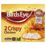 Birds Eye 2 Crispy Chicken 180G/ Birds Eye 2 Southern Fried Chicken 190G - Both 80p each at Tesco from Tomorrow (4th Jan)