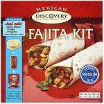 Discovery Mexican Dinner Kit for Fajitas (470g) £1.50 at Tesco