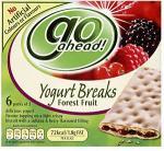 McVities Go Ahead Yoghurt Breaks - all varieties half price £1.07 @ sainsbury's