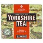 Yorkshire tea bags 80pk £2.28 each or 2 for £3.50 at asda