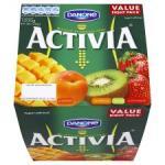 Danone Activia Weekly Mixed Fruit Yogurt 8X125g Any 2 for £3.00 @Tesco