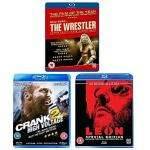 bluray triple pack - leon, the wrestler and crank 2 @ asda direct delivered for £14.97
