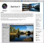 Aperture 3 £44.99 on NEW Mac App store - £120 on Amazon £170 on Apple.com